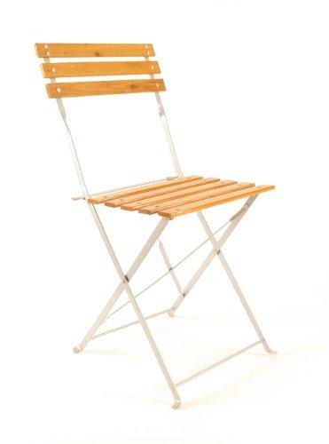 Bistro-klappstühle (Bistro Stuhl mit Holzlatten)