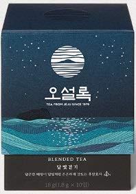 Osulloc Moon Walk Samdayon mit Jeju Dolbe (Birne) / 오설록 달빛 걷기 10x1,8g -