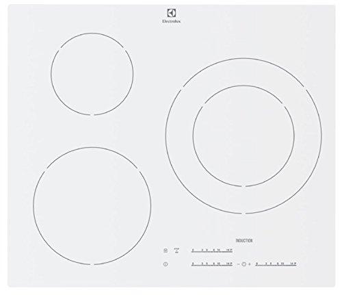 Electrolux E6753IOW plaque - plaques (Intégré, Induction, Blanc, toucher, Devant)