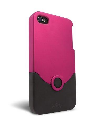 iFrogz Luxe Original Case für Apple iPhone 4/4S rosa/schwarz Ifrogz Luxe Case