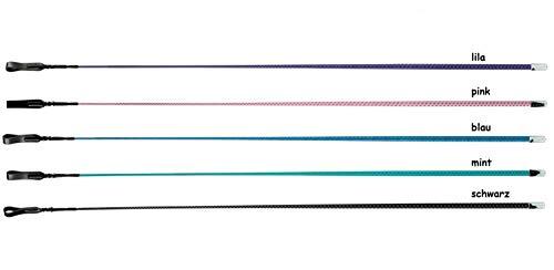 NETPROSHOP Dressurgerte Reitgerte Springgerte Springstock ohne Griff 65cm / 110cm Auswahl, Farbe:Lila, Groesse:65 cm