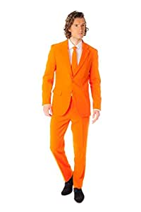 Opposuits UK 36/ EU 46 Suit Size Fancy Dress/ Costume (Orange)