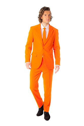 Best Dress London Kostüm Fancy - Opposuits OSUI-0001-EU50 - Kostüm, Größe 50, orange