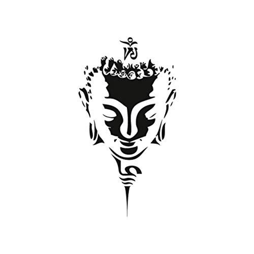 Yangll Neue Heiße Design Wasserdicht Temporäre Tätowierung Aufkleber Für Erwachsene Körperkunst Buddha Gott Gefälschte Tätowierung Mann Frau 10,5X6Cm8Ps