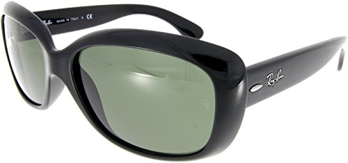 Ray-Ban Jackie Ohh RB4101 601/58 Black Green - Sonnenbrille Ray-ban Andy