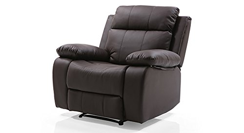 Urban Ladder Robert FNSFRS53BR11014 Single Seater Recliner (Chocolate Brown)