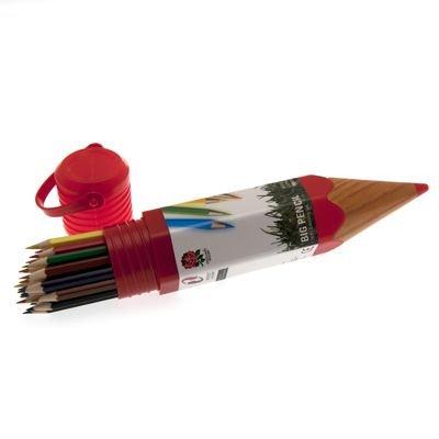 Bleistift-Set England Rugby F.U., mehrere Farben