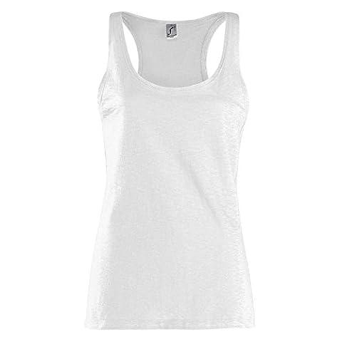 Sols - Women Saint Germain Slub Longtop / White, XXL