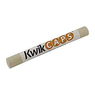 KwikCaps Furniture Repair Crayons - Scratch Restore & Touch-Up Marker, Wax Stick Crayons for Stains, Scratches, Wood Floors, Furniture, Solid Wood, Worktops, Melamine Boards, Metal Work - White AVOLA