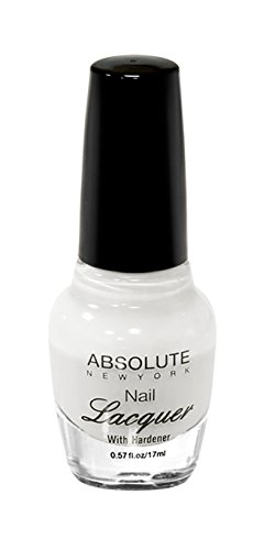 NEW YORK Vernis à ongles absolue – Pure White, 1 pièce