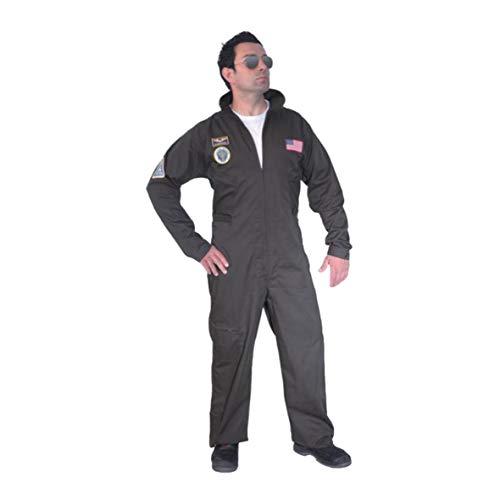 ORLOB Costume Pilota Top Gun Uomo