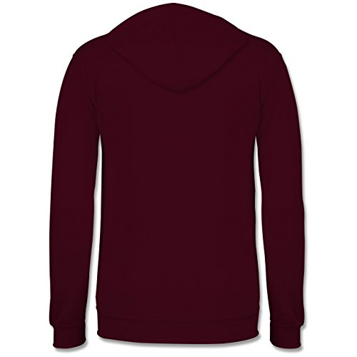 Statement Shirts - Pretty enough for you - Männer Premium Kapuzenpullover / Hoodie Burgundrot