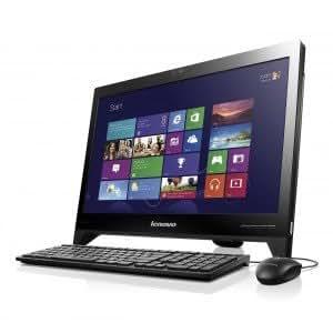 Lenovo C255-57320835 18.5-inch All-in-one Desktop PC (AMD/4GB/500GB/Win 8), Black/Silver
