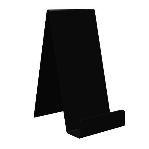Displaypro–Marcos 5x Extra Large Negro Acrílico función atril, para sujetar libros, teléfonos, hondos y más.–envío gratuito.