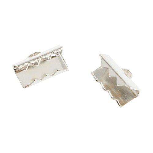10 pièces de RAS de raccords métalliques 10 mm argent
