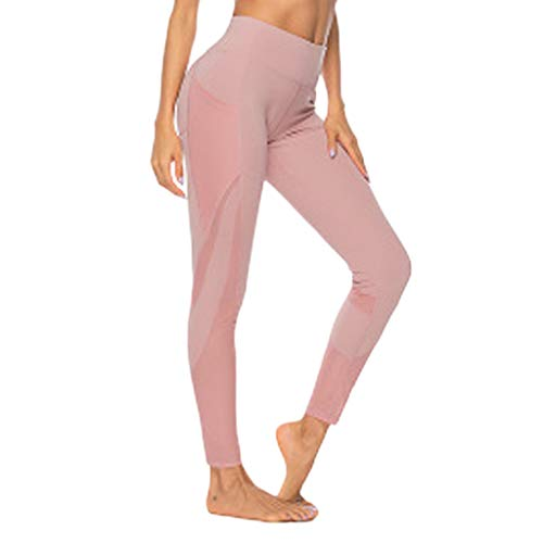 Kolila Womens Tummy Control Yoga Pants, Bauchregulierung, Damen Gym Workout Fitness Stretch Sporthose Running Leggings mit Taschen