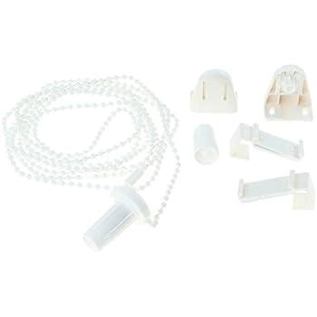 Chaine à Perles Cordon De Store Perles En Plastique Blanc