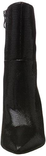 Caprice 25300, Stivali Donna Nero (Black Reptile)