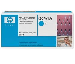 HP 502A (Q6471A) Blau Original Toner für HP Color Laserjet 3600 (Hp Kompatibel Q6471a Toner)