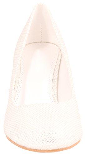 Elara - Scarpe con plateau Donna Bianco