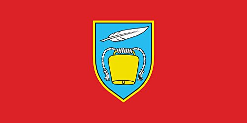 Preisvergleich Produktbild Flagge Gemeinde Vikovo | Querformat Fahne | 0.06qm für Diplomat-Flags Autofahnen