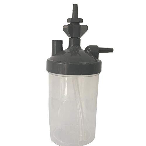 JVSISM Water Botella Humidificador para Concentrador De Oxígeno Humidificador Concentrador De Oxígeno Botella Humidificador Botellas Generador De Oxígeno Partes del Dispositivo