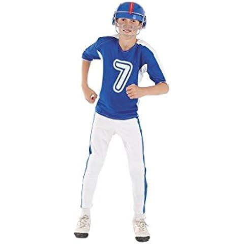 Disfraz rugby niño.(Sin casco) Talla 5/6 años.