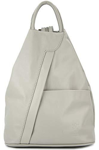 Belli 'City Backpack leichte ital. Leder Rucksack Handtasche - Farbauswahl - 29x32x11 cm (B x H x T)...