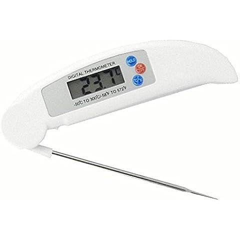 Pellet Ultra Veloce Barbecue strumento di cottura digitale termometro per carne con temperatura interna Chart