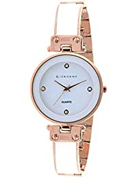 Giordano Analog White Dial Women's Watch-C2166-22