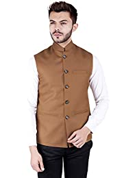 dcb1d38de Amazon.in  Browns - Nehru Jackets   Ethnic Wear  Clothing   Accessories
