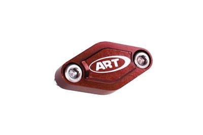 ART BREMSPLATTE UNIVERSAL ATV HINTEN RED