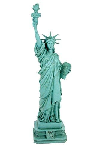 Veronese Design  Freiheitsstatue Statue of Liberty 32 cm grün New York Figur Skulptur - Miss Freiheitsstatue Kostüm