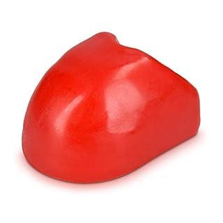 kwmobile Zugkugelkupplung Prallschutz Silikon Schutzkappe - Anhängerkupplung Schutz Kappe - für Kugelkopf Kupplungen Zugkugelkupplungen in Rot