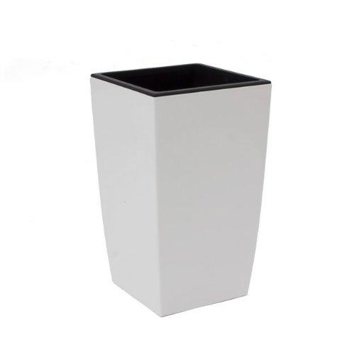 Prosperplast Blumentopf, weiß, 29x29x53 cm, DUW290-S449
