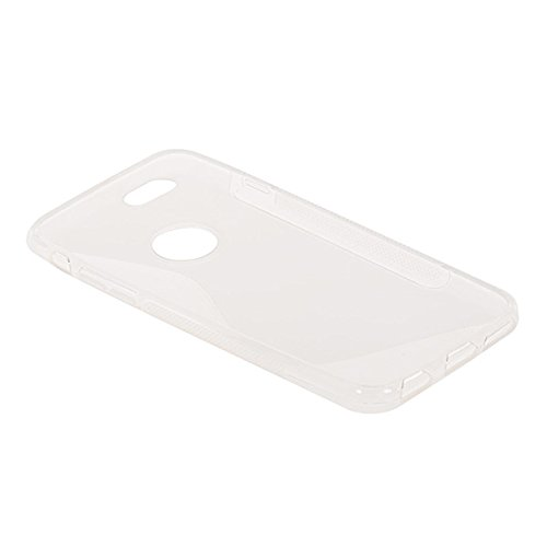 iPhone 6 H¨¹lle,COOLKE [Schwarz] S-Line Design Schutzh¨¹lle Silikon Soft TPU Cover Case F¨¹r for Apple iPhone 6 (4.7 Inch) Clear