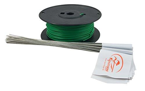 SportDOG Marke Draht & Flagge Accessory Kit für in-ground Zaun -