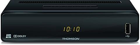 THOMSON THC300 Digitaler HD Kabel-Receiver mit Teletext (USB, HDMI, Kabel-In/Out, SCART, EPG, Kindersicherung, Free-To-Air TV, Radioprogramme, Fernbedienung)