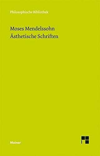 Ästhetische Schriften (Philosophische Bibliothek)