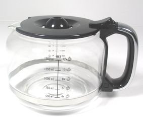 Beem Glaskanne mit Deckel, N-Form Griff für die Fresh-Aroma-Perfect Superior Kaffeemaschine