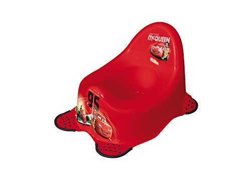 Image of Disney Cars 2 Steady Potty - Red - Lightning McQueen