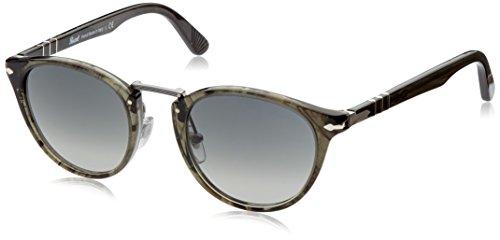 persol-unisex-sonnenbrille-po3108s-gr-small-herstellergrosse-49-grun-gestell-grun-glaser-hellgrau-ve