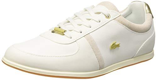 Lacoste Damen Rey Sport 119 2 Cfa Sneaker Elfenbein (Off Wht/Gld 06b) 38 EU