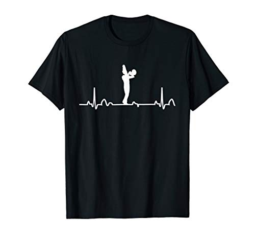 Mellophone Heartbeat EKG Marching Band Player Gift T-Shirt