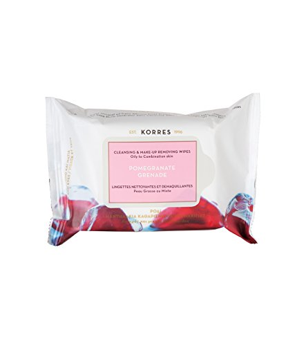 korres-pomegranate-cleansing-wipes-pack-of-25