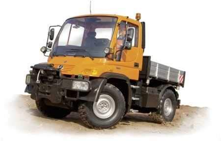 RC Baufahrzeug kaufen Baufahrzeug Bild 1: Carson Modellsport Unimog Mercedes Benz U300 Bauhof 1:12 RC Einsteiger Funktionsmodell Baufahrzeug i*