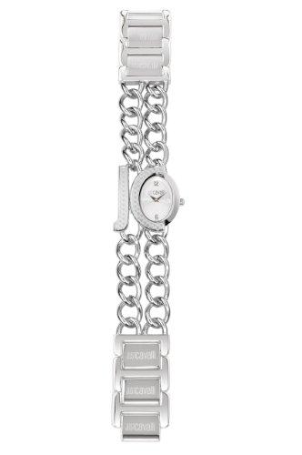 Just Cavalli R7253193645 – Reloj de mujer de cuarzo, correa de acero inoxidable color plata