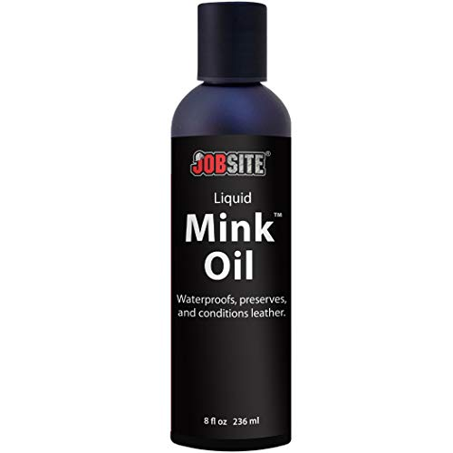 Huile liquide de vison d'imperméabilité du cuir–adoucit, protège et...