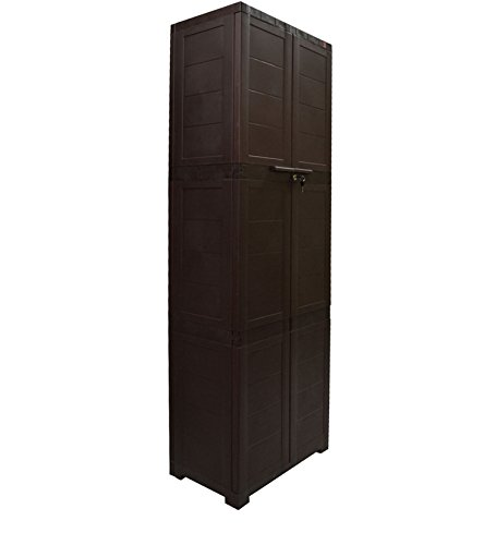 Cello Novelty Large Cupboard (Ice Brown)