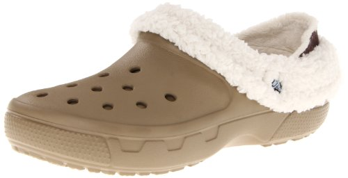 Oatmeal Sabot amp; Clogs Khaki Pantoletten U Mammoth 12878 Erwachsene Collar Crocs CR Full Unisex HawtT0Oq8